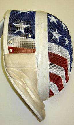 Custom All Stars >> Custom-painted fencing masks at Pointed Comments